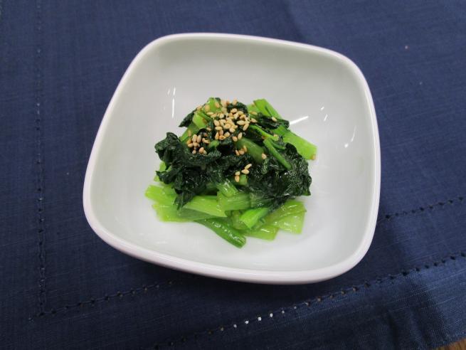洋風 小松菜